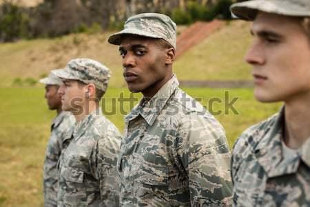 Militari soldati formazione esercizio arma carne Foto d'archivio © wavebreak_media