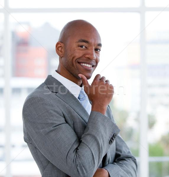 портрет улыбаясь бизнесмен служба бизнеса человека Сток-фото © wavebreak_media
