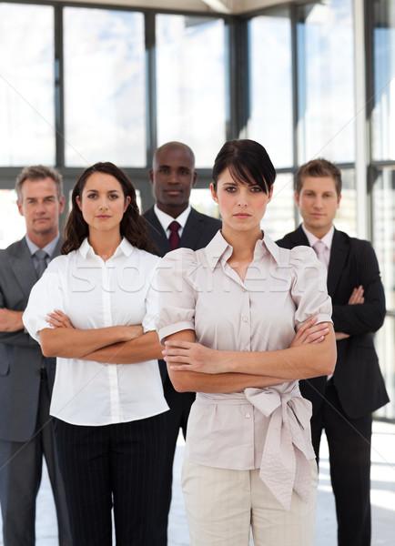 бизнес-команды служба фон бизнесмен группа костюм Сток-фото © wavebreak_media