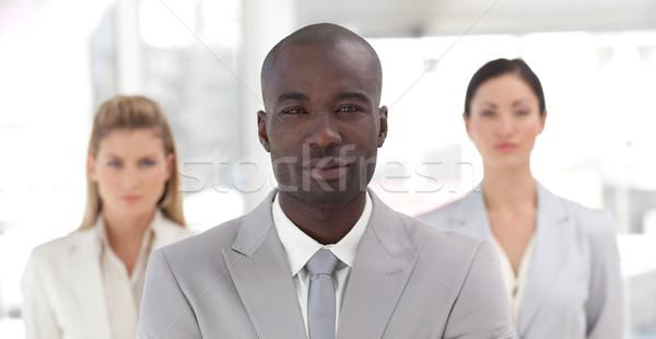 業務團隊 顯示 精神 陽性 業務 商業照片 © wavebreak_media
