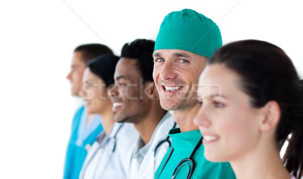 A diverse medical team standing together Stock photo © wavebreak_media