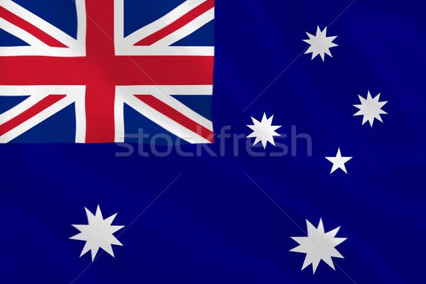 Australian flag Stock photo © wavebreak_media