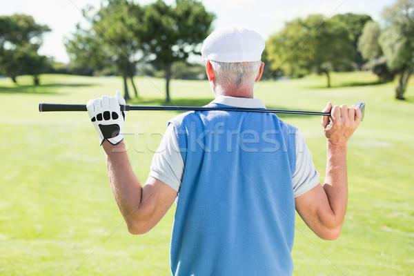 гольфист клуба за голову Сток-фото © wavebreak_media