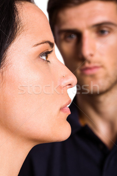 Couple not talking after argument Stock photo © wavebreak_media