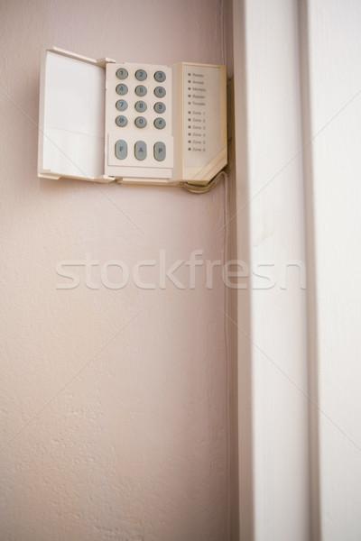 Home sicurezza muro Foto d'archivio © wavebreak_media