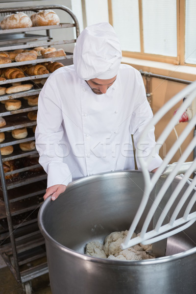 Pék ipari keverő pékség üzlet hotel Stock fotó © wavebreak_media