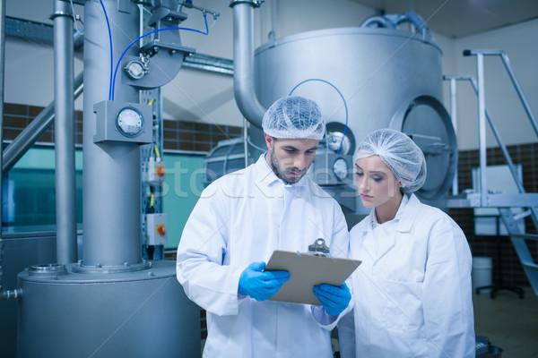 продовольствие технологий промышленности завода команда Сток-фото © wavebreak_media