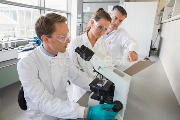 Squadra scienziati laboratorio scuola medici Foto d'archivio © wavebreak_media