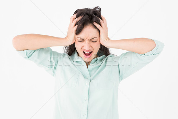 Depressed woman shouting Stock photo © wavebreak_media