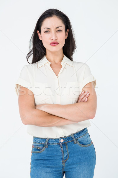 Serious woman frowning Stock photo © wavebreak_media