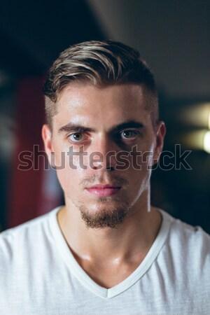 Portrait of hansome man Stock photo © wavebreak_media