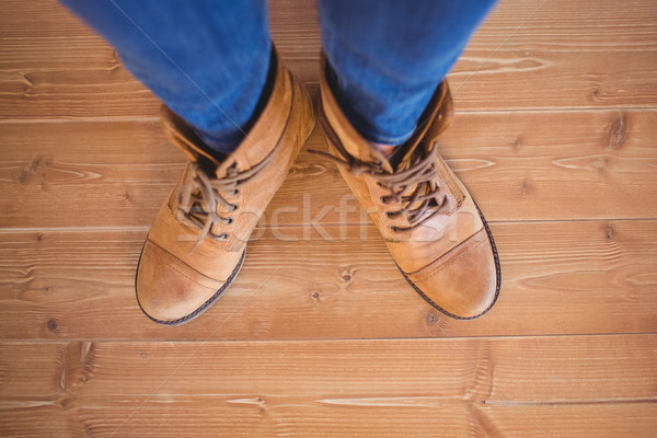 High angle view of woman wearing boots Stock photo © wavebreak_media