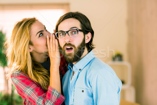 Creative team gossiping  Stock photo © wavebreak_media