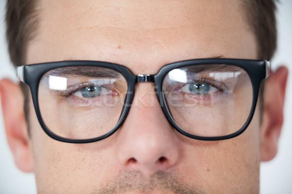 Man wearing spectacles Stock photo © wavebreak_media