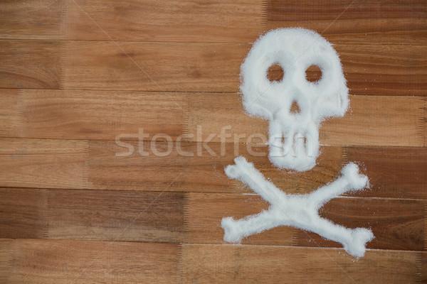 Gevaar teken omhoog suiker poeder medische Stockfoto © wavebreak_media