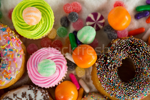 Close-up of various confectionery Stock photo © wavebreak_media