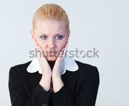 Business woman contemplating  Stock photo © wavebreak_media