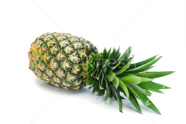 Pineapple spread on a white background Stock photo © wavebreak_media