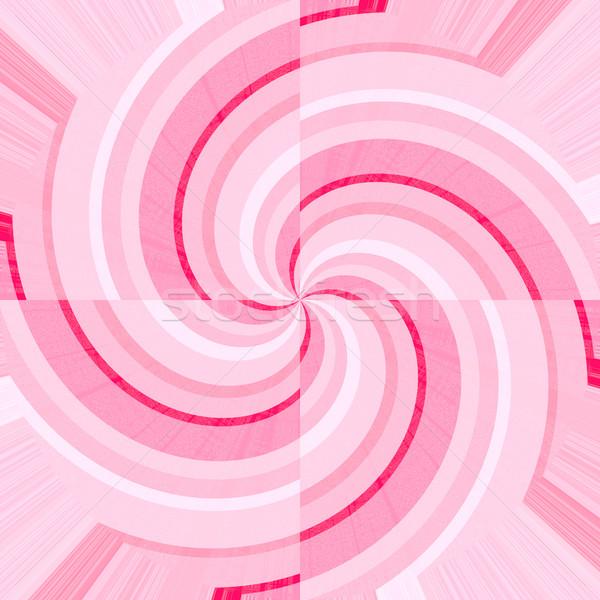 Rosa bianco curve abstract sfondo pattern Foto d'archivio © wavebreak_media