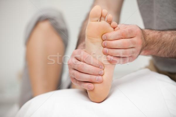 足 患者 オフィス 医療 健康 ケア ストックフォト © wavebreak_media