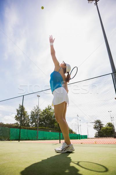 かなり スポーツ フィットネス 訓練 ストックフォト © wavebreak_media