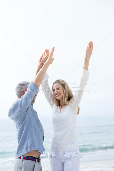 Happy couple having fun together Stock photo © wavebreak_media