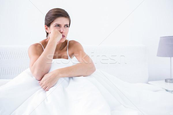 Thoughtful furious woman  Stock photo © wavebreak_media