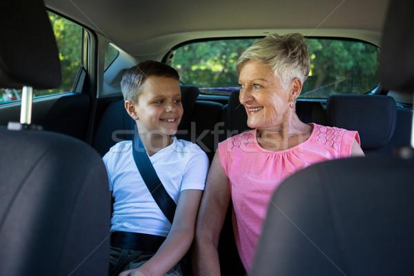 семьи бабушки внук бабушка отношения автомобилей Сток-фото © wavebreak_media