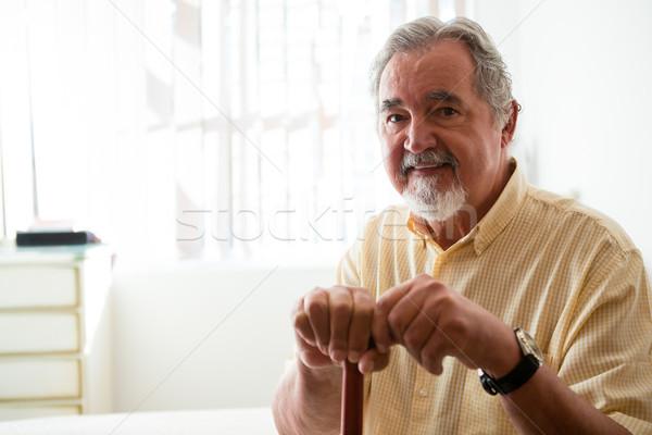 портрет счастливым старший человека ходьбе Сток-фото © wavebreak_media