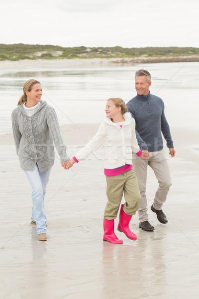 Family casually walking together Stock photo © wavebreak_media