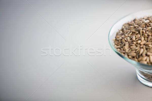 Görmek çanak tohumları tablo ahşap ev Stok fotoğraf © wavebreak_media