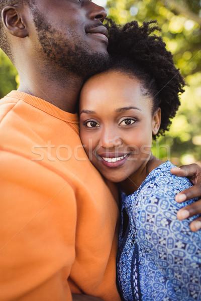 Happy couple posing together Stock photo © wavebreak_media