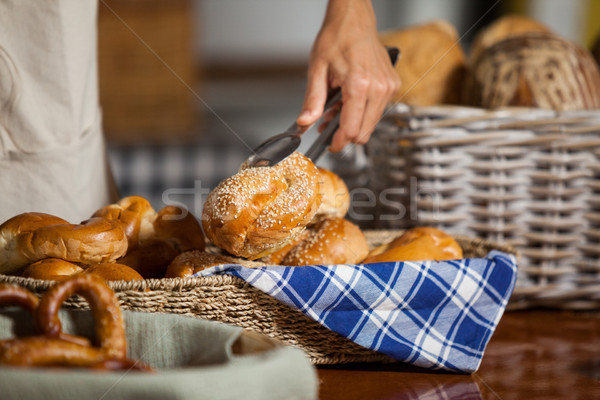 сотрудников хлеб хлебобулочные магазин бизнеса Сток-фото © wavebreak_media