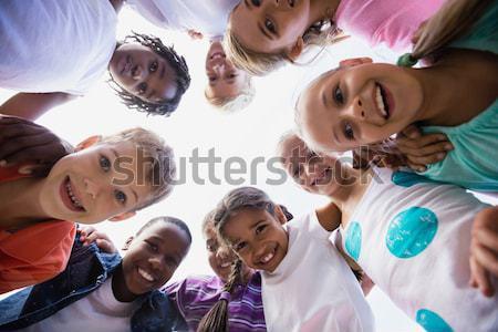 Cute uczniowie szczęśliwy dziecko portret chłopca Zdjęcia stock © wavebreak_media