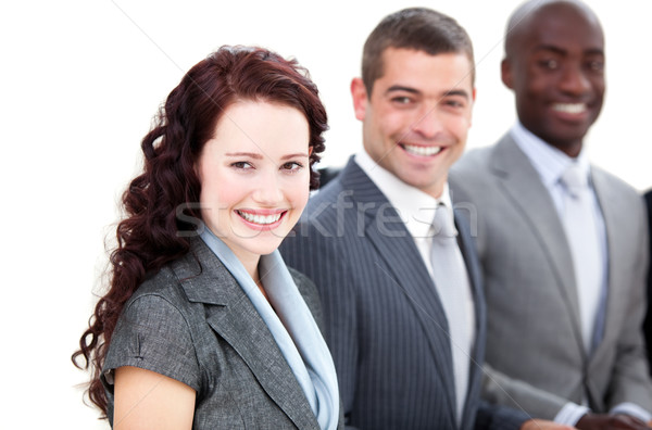 Cheerful multi-ethnic business people in a meeting  Stock photo © wavebreak_media