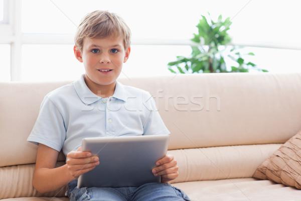 Сток-фото: гостиной · компьютер · мобильных · игры