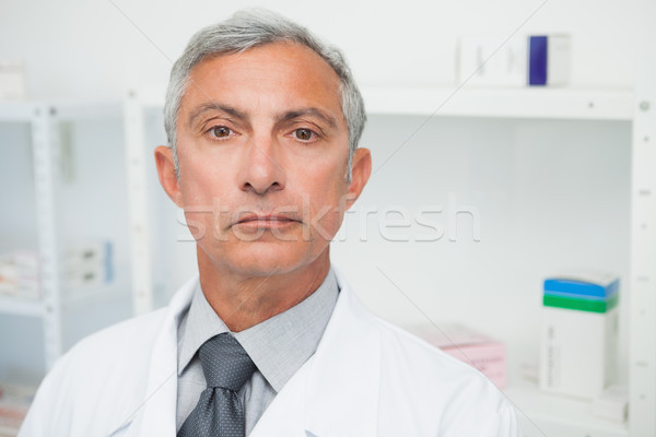 Doctor is looking angry in the camera Stock photo © wavebreak_media
