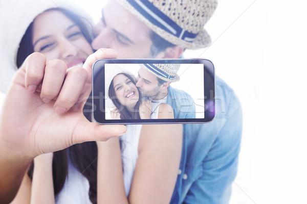 изображение стороны смартфон Сток-фото © wavebreak_media