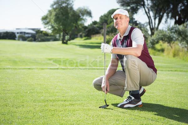 гольфист гольф клуба Сток-фото © wavebreak_media