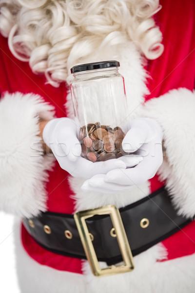 Kavanoz tok beyaz erkek Stok fotoğraf © wavebreak_media