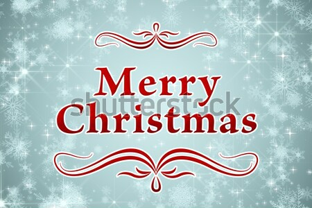 Composite image of merry christmas Stock photo © wavebreak_media