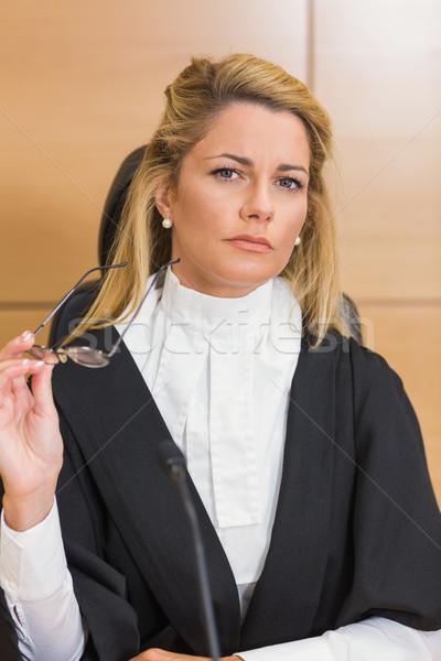 Stern judge looking away  Stock photo © wavebreak_media