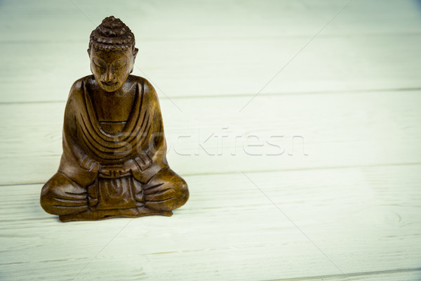Buddha statue table coup studio paix Photo stock © wavebreak_media