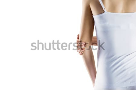 соответствовать женщину локоть травма белый здоровья Сток-фото © wavebreak_media