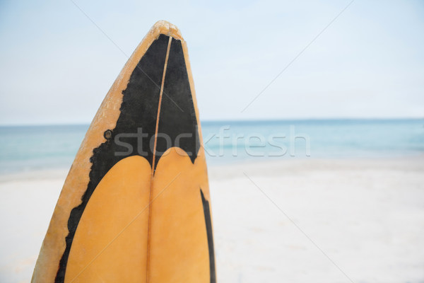 Ahşap sörf plaj telefon ahşap Stok fotoğraf © wavebreak_media