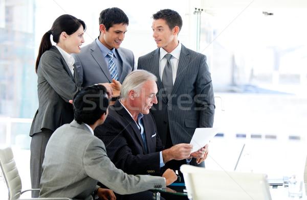 Multi-ethnic business team in a meeting Stock photo © wavebreak_media