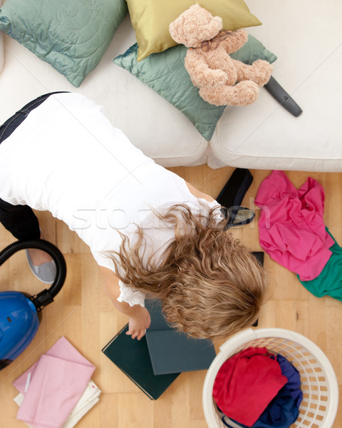 Blond woman doing housework  Stock photo © wavebreak_media