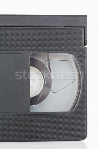 Video bant beyaz televizyon film Stok fotoğraf © wavebreak_media