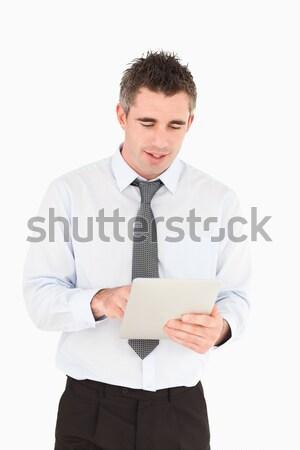 Portret biznesmen biały człowiek szczęśliwy Zdjęcia stock © wavebreak_media