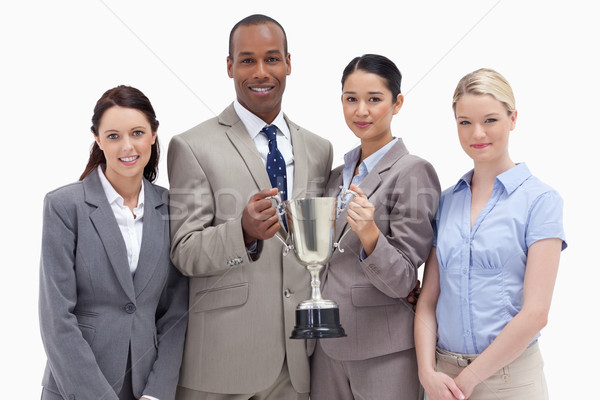 Equipe de negócios copo branco mulher Foto stock © wavebreak_media